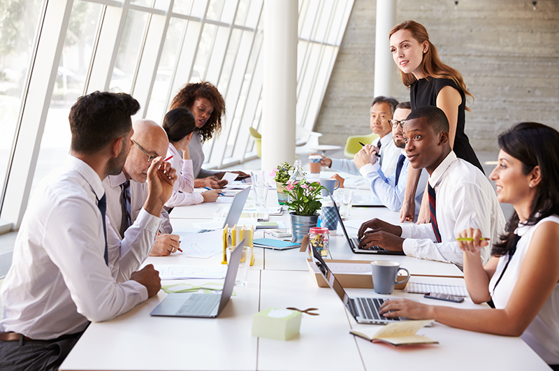 Picture of People Working Together in A Team